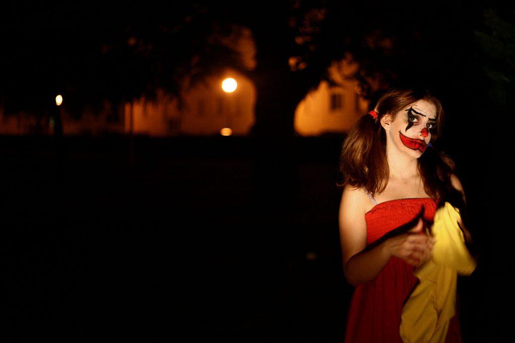 Photo réalisée avant le BTS Photographie: Le Clown