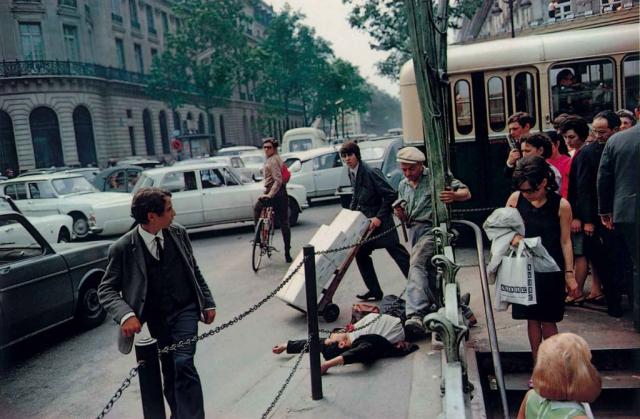 Photo de rue en couleur, Joel Meyerowitz