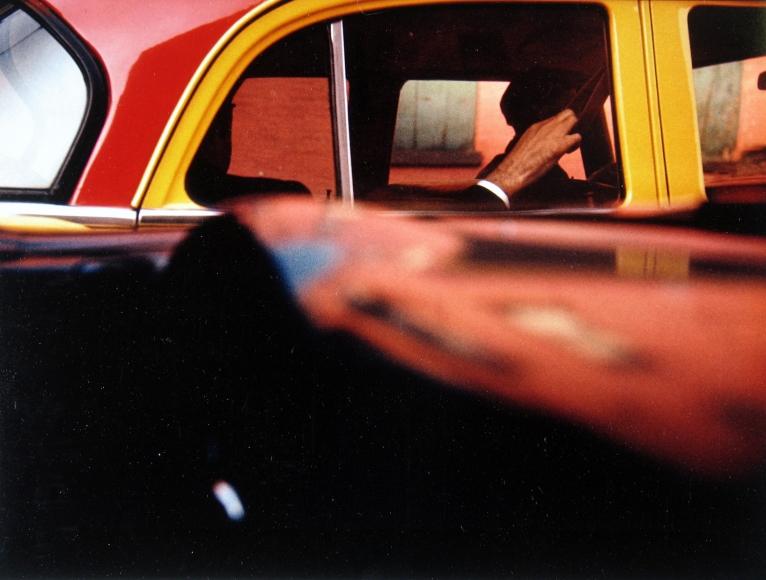 Photo de rue en couleur: Saul Leiter