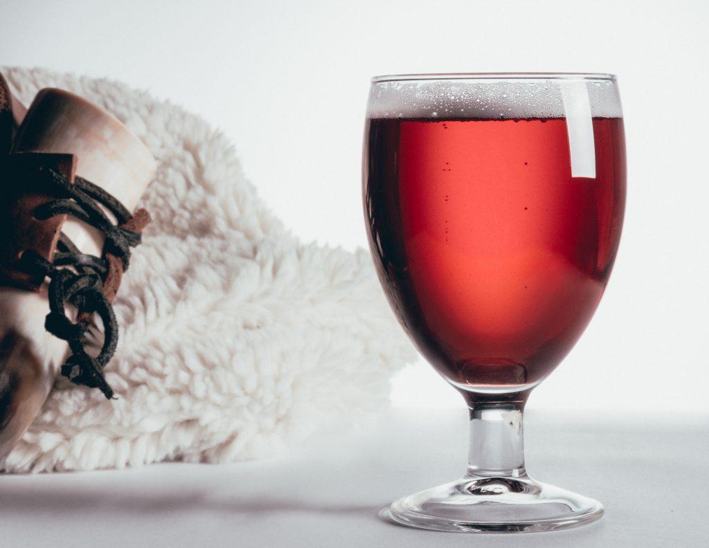 Mise en ambiance du verre: la bierre