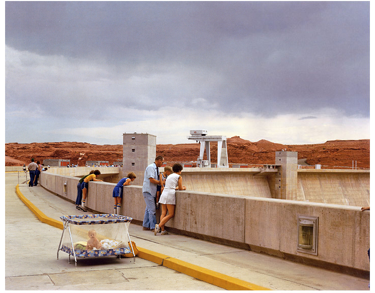 Glen Canyon Dam, Page, Arizona, 1983 from American Prospects y Joel Sternfield