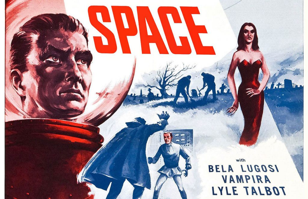 Affiche plan 9 from outer space de Ed Wood