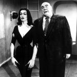Vampira et Tor Johnson dans Plan 9 from Outer space de ed Wood