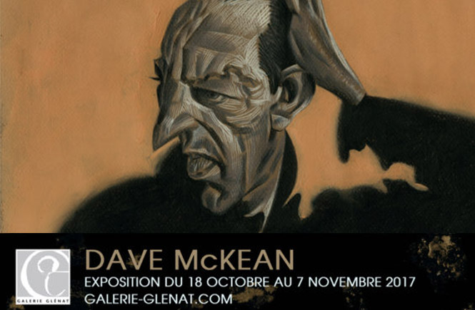 Dave Mckean exposition paris