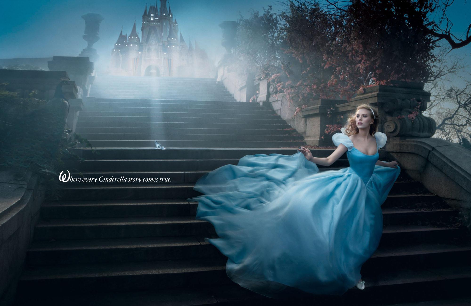 Annie Leibovitz/Disney Parks Cendrillon