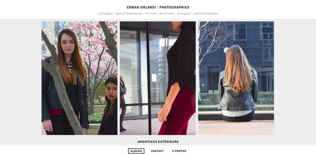 Site Web de Erwan