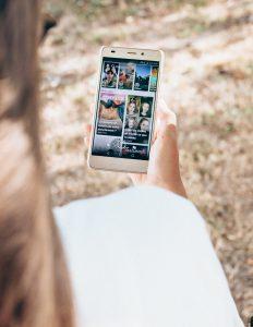 réseaux sociaux: vu de snapchat