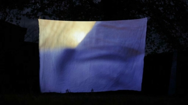 scénographie de On breath and silence par Lauréline Reynaud