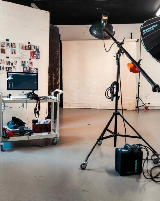 studio photo à gobelins, l'école de l'image