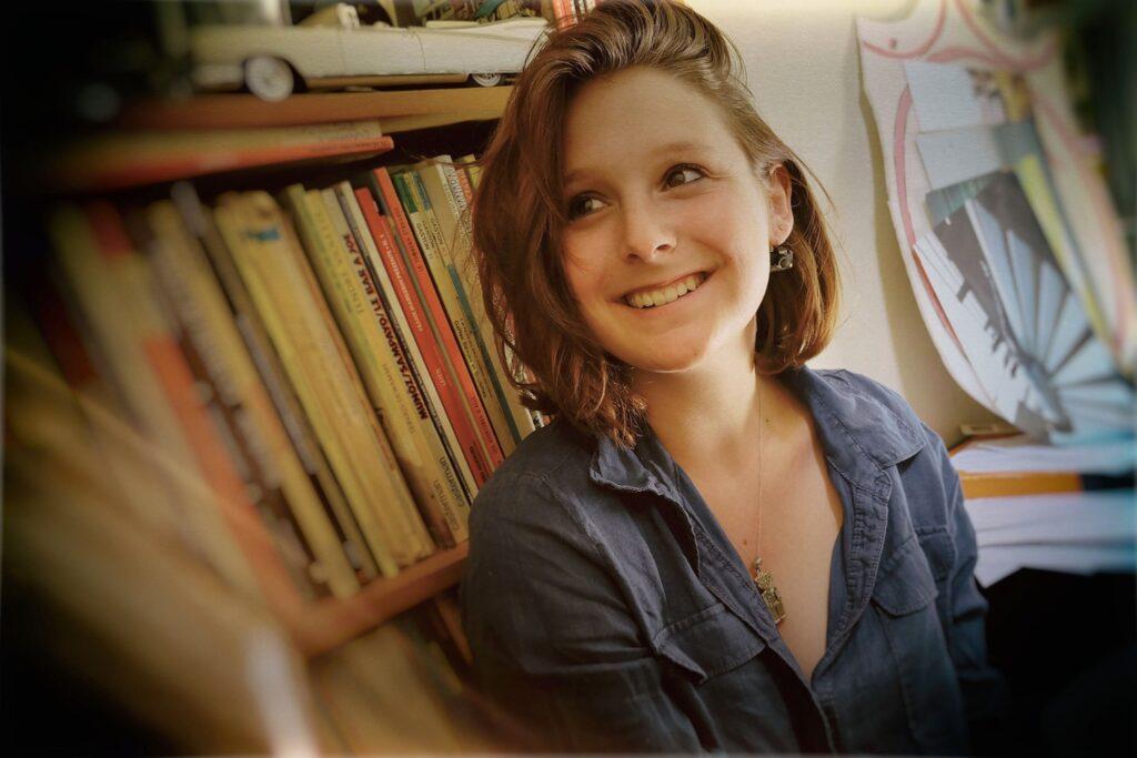 Portrait de Lucie Hodiesne Darras