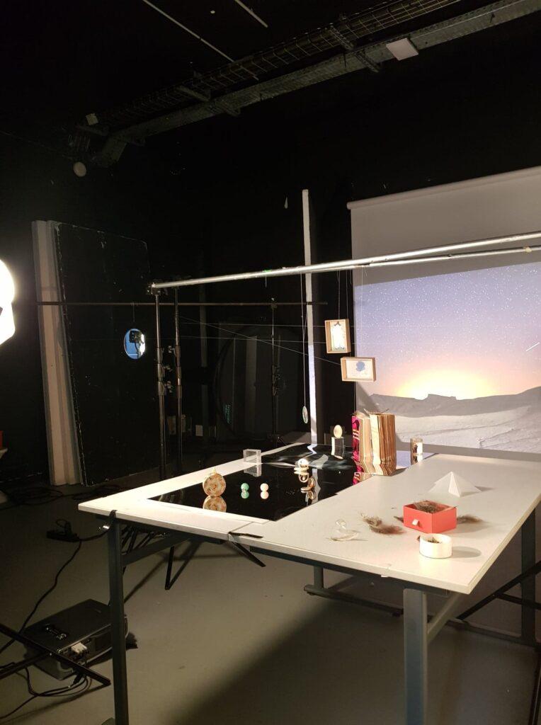 Backstage des photos réalisées par charlotte moricand