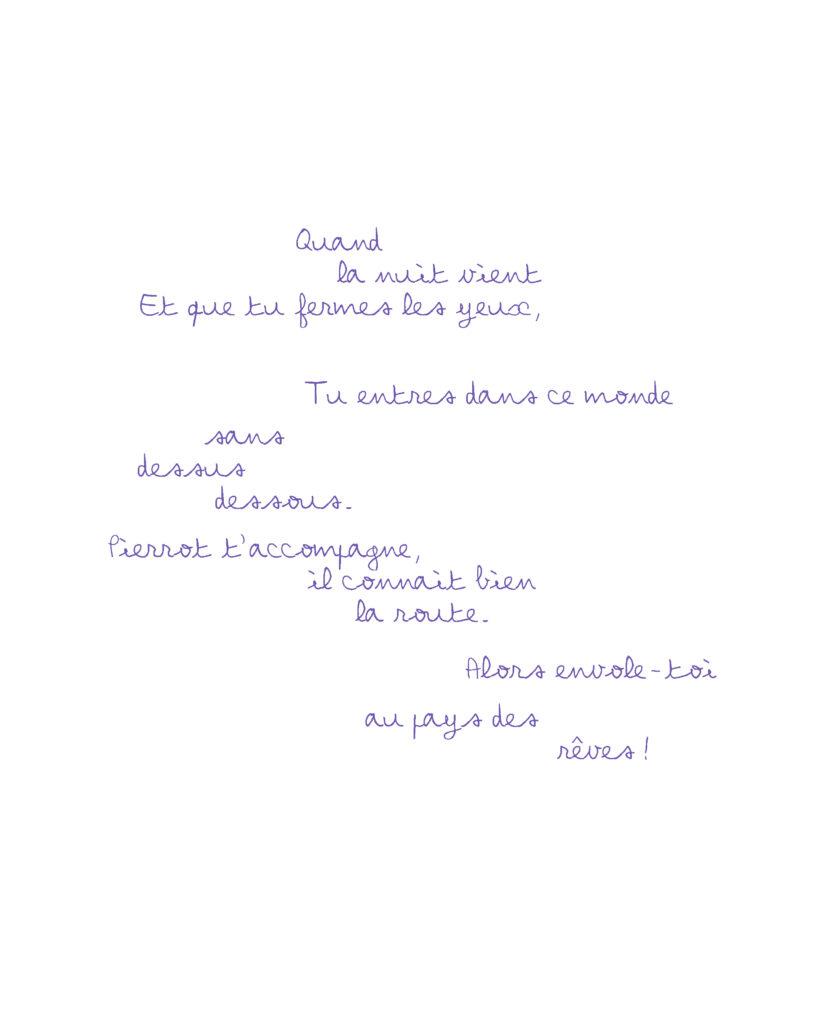 poème écrit par charlotte moricand