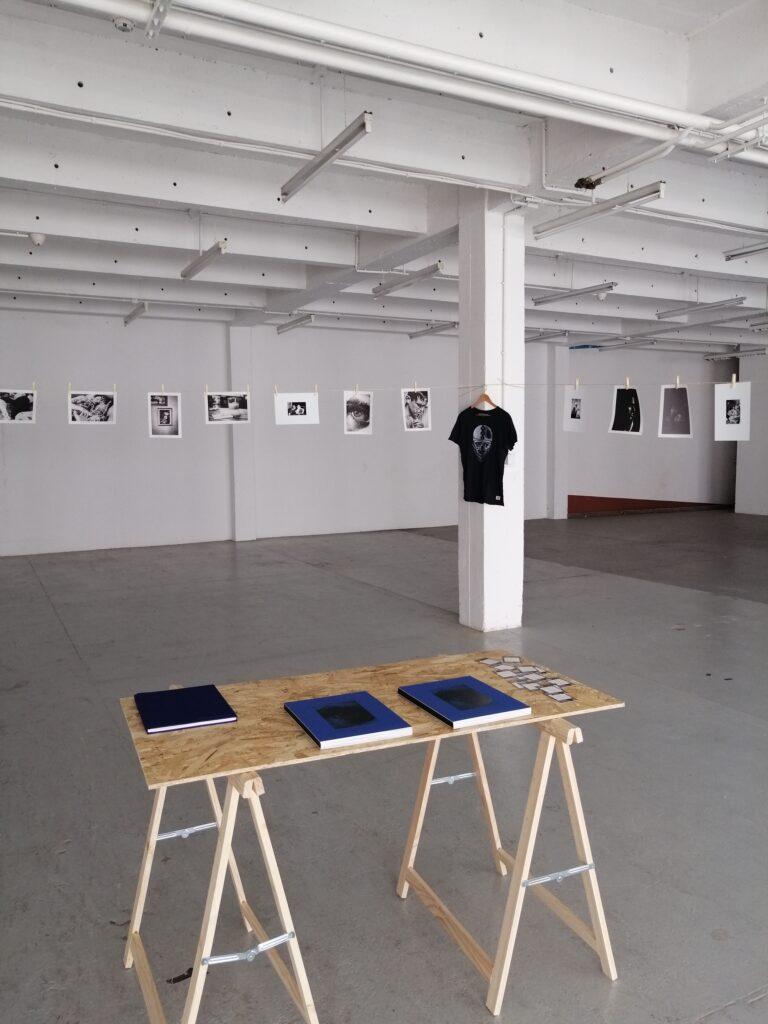 Photo de l'exposition de Lucie Hodiesne Darras aux douanes, Paris 2020