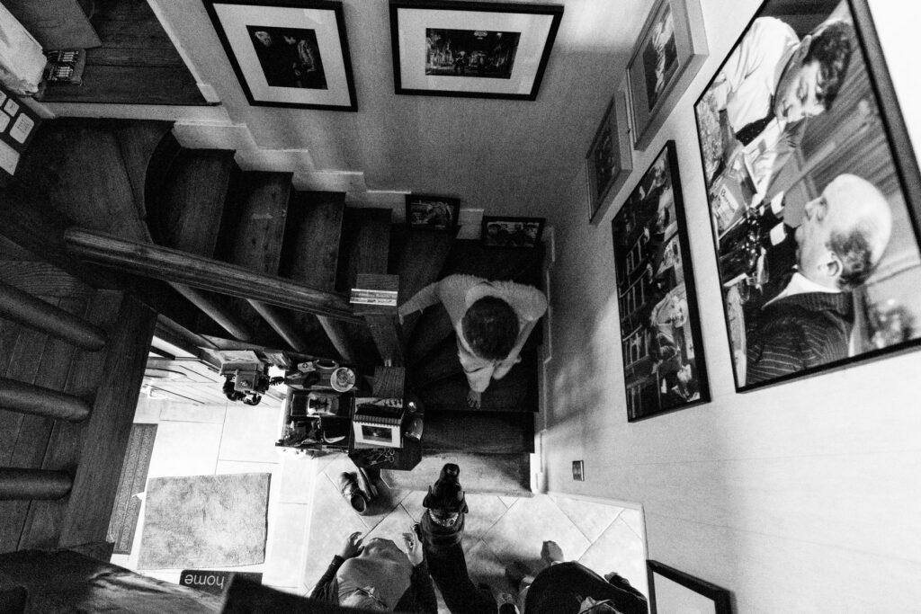 Photo depuis le haut de l'escalier, par Lucie hodiesne darras