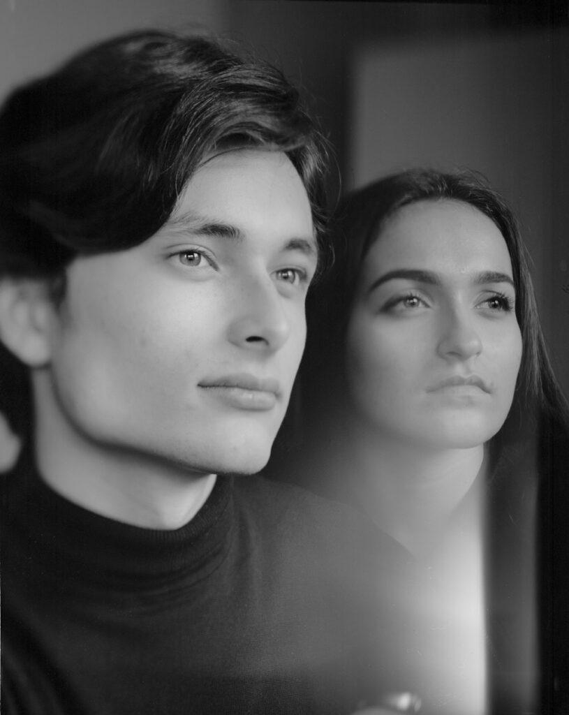portraits à la chambre par Sandrine Prely
