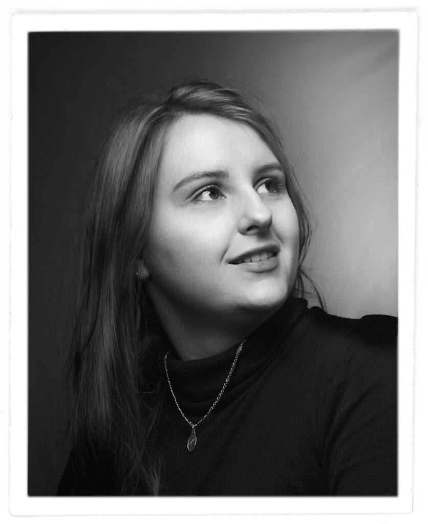 autoportrait de Sandrine Prely