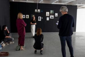exposition du projet de Sandrine Prely aux douanes