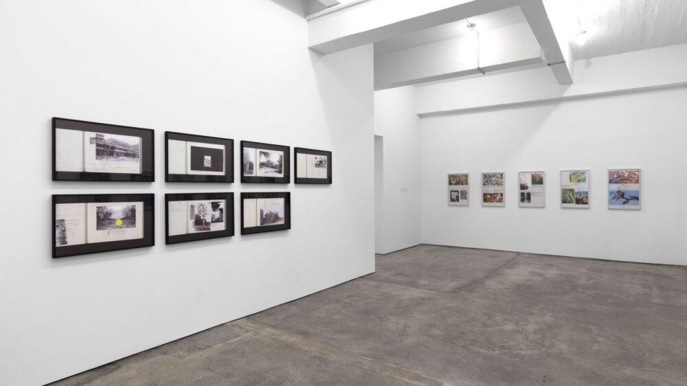 Walid Raad, photographe plasticien : vue de l'exposition à la Paula Cooper Gallery en 2017
